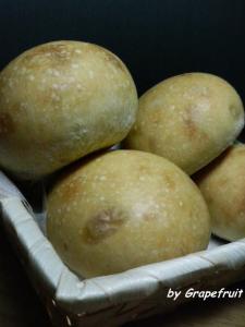 20090523ピール丸パンbyグレープフルーツ酵母