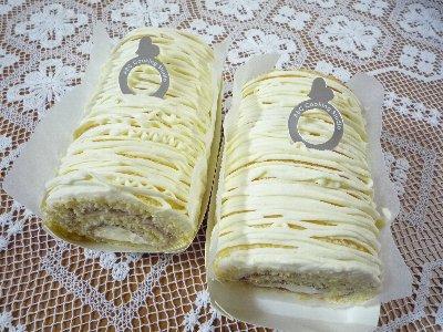 チーズクリームのロールケーキ♪