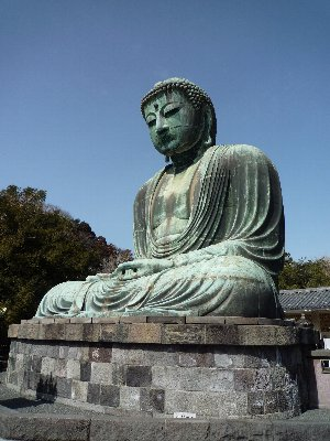 鎌倉の大仏さま♪