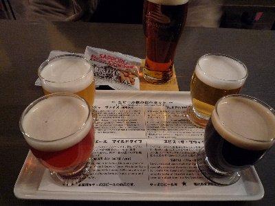 エビスビールを飲みくらべ♪