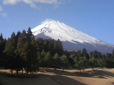 平成20年新春の富士山