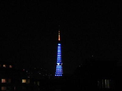 大晦日のタワー