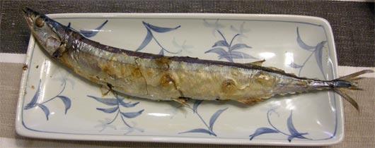 おいしい秋刀魚