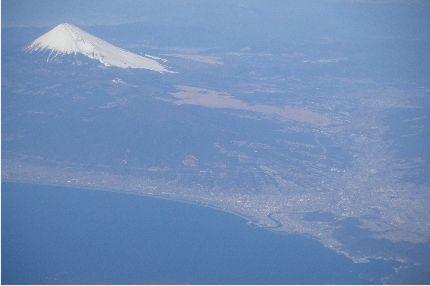 富士山と伊豆半島