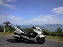 豊島④バイク