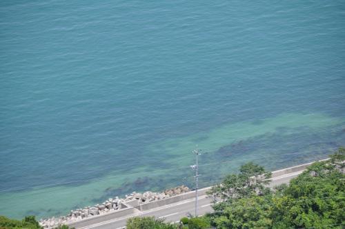 意外と綺麗な海