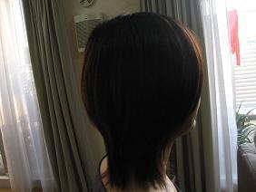 髪の毛2008秋