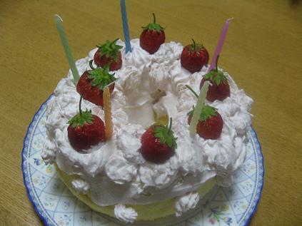 健誕生日ケーキ10歳