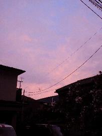 080911夕焼け