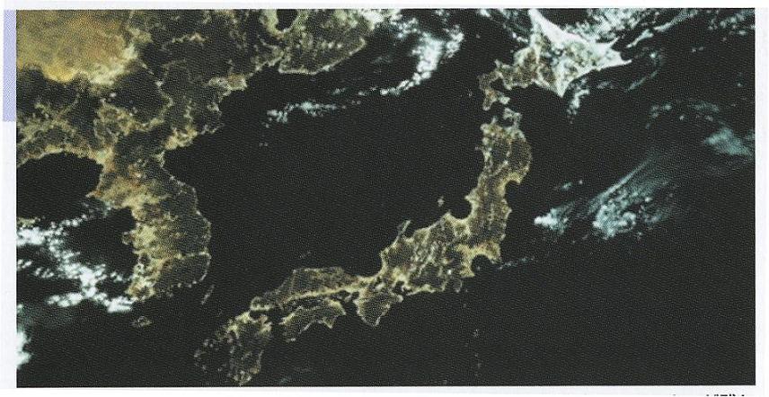攻殻世界の日本地図