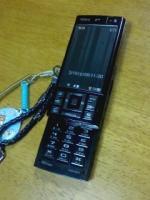 ワシの新携帯電話:黒紅梅