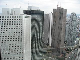 都庁からの眺め.2