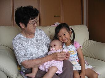 おばあさんとひ孫