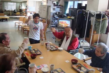 東京都 足立区 介護老人保健施設(入所・通所リハビリ・デイケア) 千寿の郷 お正月 おせち料理