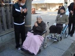 東京都 足立区 介護老人保健施設(入所・通所リハビリ・デイケア) 千寿の郷 お正月 初詣