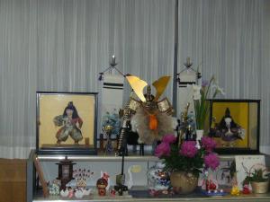 東京都 足立区 介護老人保健施設(入所・短期入所・通所リハビリ) 千寿の郷 五月人形
