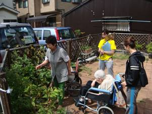 東京都 足立区 介護老人保健施設(入所・短期入所・通所リハビリ) 千寿の郷 菜園プロジェクト