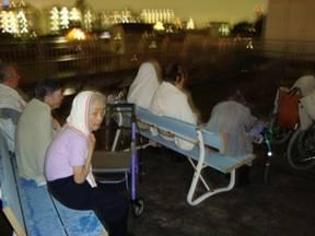 東京都 足立区 介護老人保健施設(入所・短期入所・通所リハビリ) 千寿の郷 花火大会 4