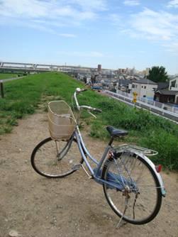 東京都 足立区 介護老人保健施設(入所・短期入所・通所リハビリ) 千寿の郷 自転車 ご近所の風景