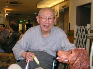 東京都 足立区 介護老人保健施設(入所・デイケア・通所リハビリ) 千寿の郷 愛犬