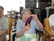 東京都 足立区 介護老人保健施設(入所・短期入所・通所リハビリ) 千寿の郷 菜園プロジェクト 笑顔 収穫