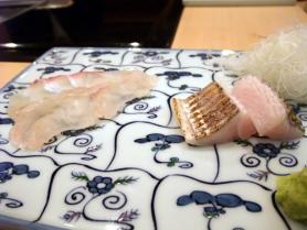 鯛、あぶらめ、太刀魚