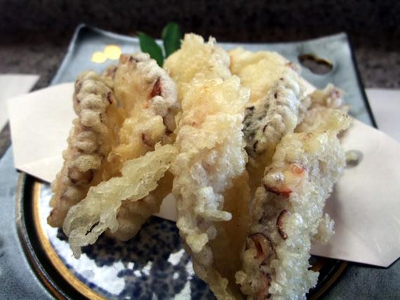 明石蛸の天ぷら