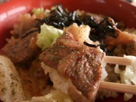 ステーキ丼2
