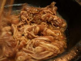 お肉石鍋1