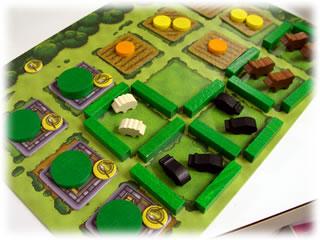 アグリコラ日本語版:理想的な農場