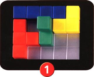 ブロックス3D:初手順の置き方