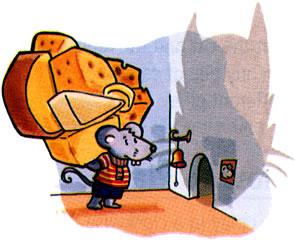 チーズ狩り!:イラスト