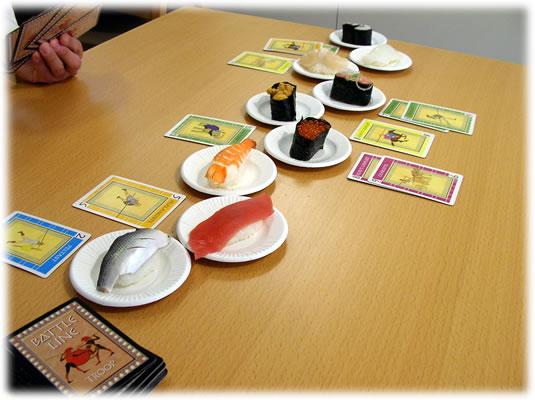 お寿司ライン:展示用写真