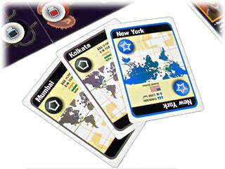 パンデミック:手札の都市カード