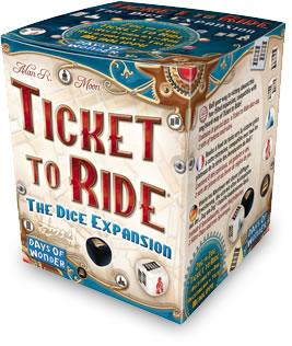 チケット・トゥ・ライド:ダイス拡張セット:箱