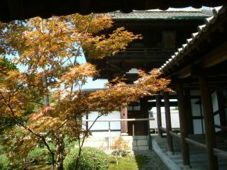 東福寺 開山堂入口