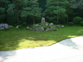 芬陀院(雪舟寺) 鶴亀の庭