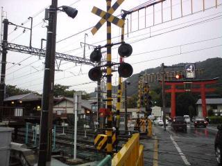 松尾駅&松尾大社鳥居