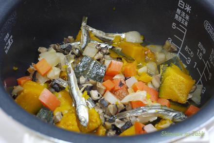 煮干し野菜煮