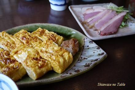 蕎麦屋の卵焼き