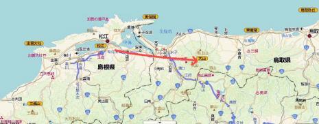 松江~大山