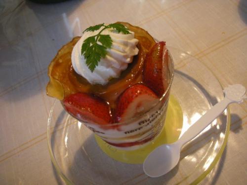 20081023プリンケーキ