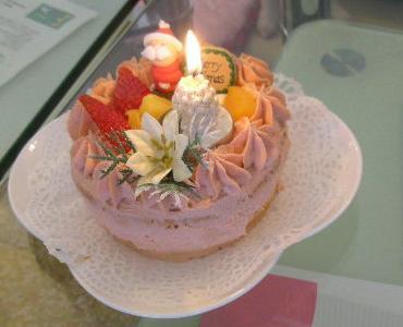 20081216ケーキ