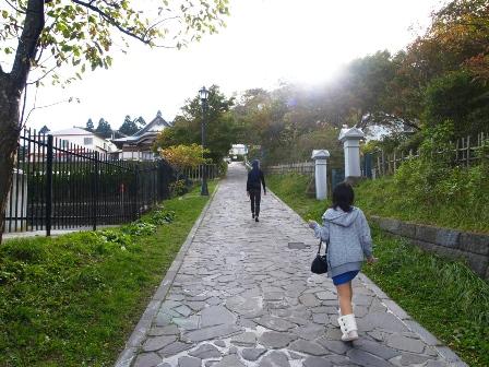 函館の伝統的坂道