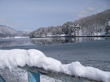 近所の湖(2008年3月2日)
