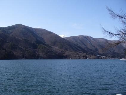 近所の湖(3月22日)