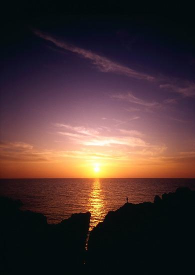 夕日を釣るモノ