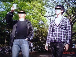 所長と井上君(ペイント)