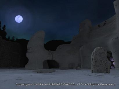 満月の夜…一人の忍者が散っていきました