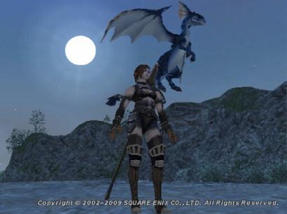 月夜の竜騎士